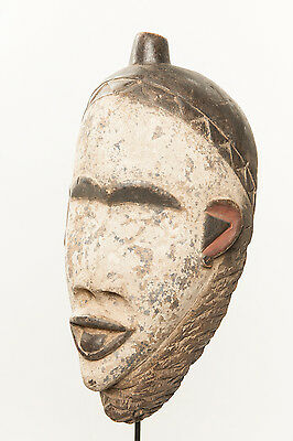 Bakongo Face Mask, D.R. Congo, African Tribal Art