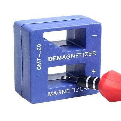 Protable Magnetizer Demagnetizer Magnetic Tool For Screwdriver Tips Screw Bit