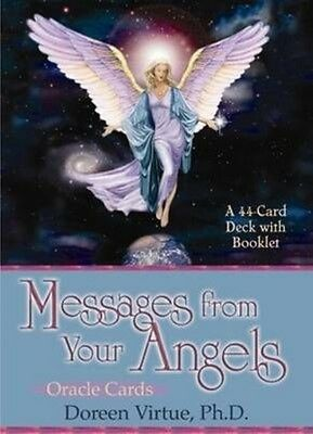 Messages from Your Angels Cards by Doreen Virtue (English)