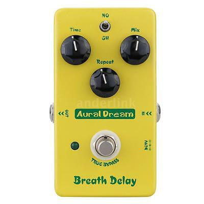 Aural Dream Breath Delay Electric Guitar Effect Pedal with True Bypass V4I3