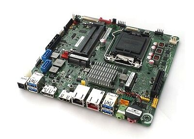 Intel Desktop Board DQ77KB LGA 1155 thin mini ITX 2xGbit USB 3.0 PCIe x4 HDMI DP