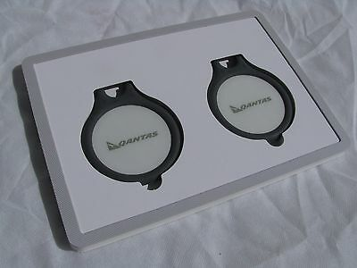 2 x Qantas Platinum One Q Tags -case and pack NEW