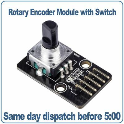 Rotary Encoder Module With Switch. For Arduino RobotDyn
