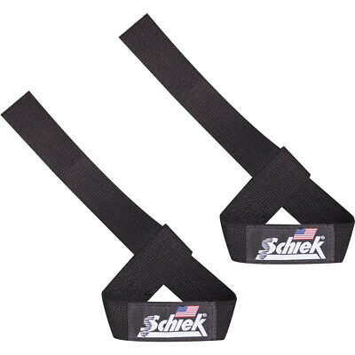 "Schiek Sports Model 1000-BLS Basic 20"" Lifting Straps - Black"