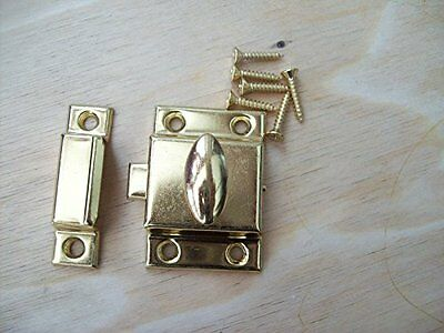Ironmongery World Cupboard Cabinet Door Thumb Turn Thumbturn Catch Latch Lock...