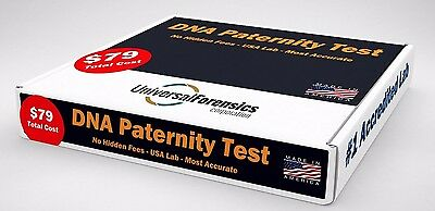 Universal Forensics DNA Paternity Test incl. Kit, Lab Fees & Results-2 Pers