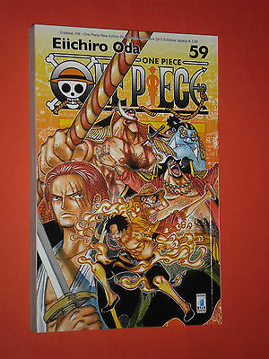 ONE PIECE-NEW-costola bianca- N°59-DI: EIICHIRO ODA - MANGA STAR COMICS- NUOVO