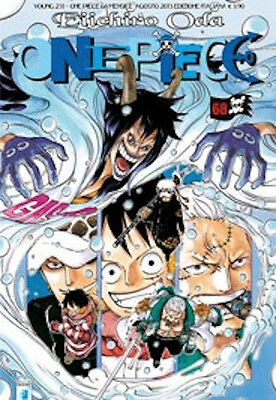 manga -  ONE PIECE  N. 68 - YOUNG 231 nuovo  star comics