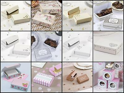 Neviti Wedding Food Catering Cake Boxes Individual Pieces of Cake Guest Goody Ba
