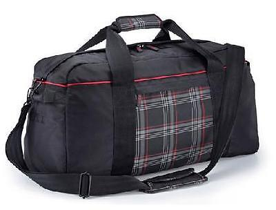 "Genuine VW GTI sports bag with GTI seat upholstery from the A7 ""Clark"" material"