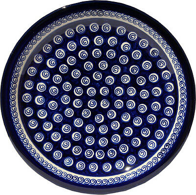 "Polish Pottery Dinner Plate 11"" GU1014/174a from Zaklady Boleslawiec"