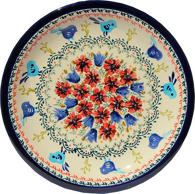 "Polish Pottery Dinner Plate 11"" GU1014/214art from Zaklady Boleslawiec"