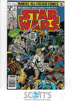 Star Wars  #2   VG  (pence copy)
