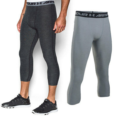 Under Armour Mens HG Armour Twist 3/4 Compression Baselayer Legging 39% OFF RRP