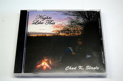 "CD ""Nights Like This"" von Chad K. Slagle The Singing Bowyer - Neu. Sonderpreis!"