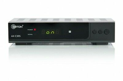 Opticum Orton HD AX C 305 mit PVR HD Kabelreceiver Scart USB HDMI DVB C Digital