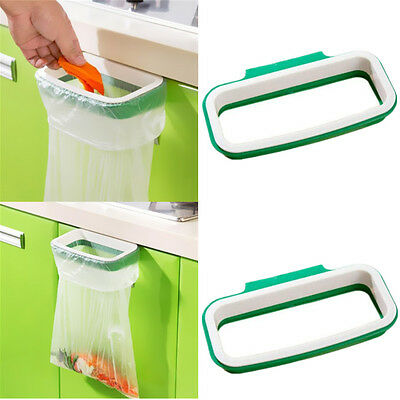Hanging Garbage Tool Trash Bag Kitchen Holder Plastic Storage Home Portable Rack