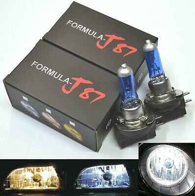 White H11B 100W 5000K Two Bulbs Head Light Fog Lamp Replace Upgrade High Watt