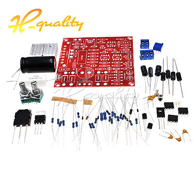 0-30V 2mA-3A Continuously Adjustable DC Regulated Power Supply DIY Kit RED PCB