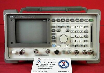 HP 8920A -02-03-std Communications Test Set opt 02, 03,