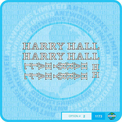 Harry Hall Bicycle Decals-Transfers-Stickers #2