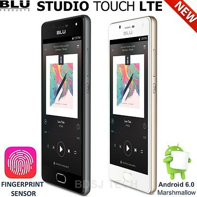 BLU Studio Touch LTE (16GB) 4G Finger Print Sensor Android Unlocked GSM S0211U