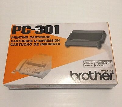 Brother PC-301 Replacement Fax Ribbon Printing Cartridge 750 770 775 870 885 970