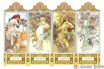 The Four Seasons Clementoni Jigsaw Puzzle 1000 Pieces by Mucha