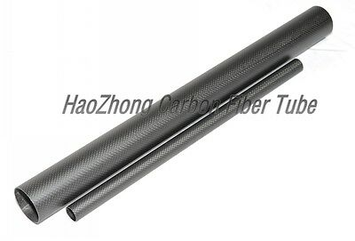 60mm ODx 57mm ID Carbon Fiber Tube 3k 500MM Long (Roll Wrapped)carbon pipe 60*57