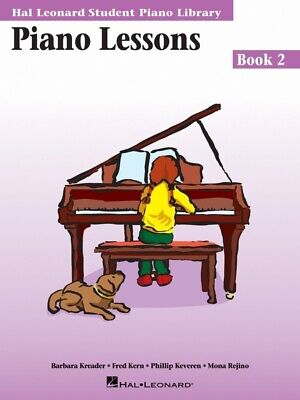 Hal Leonard Student Piano Library Lessons Book 2 *NEW* Sheet Music HLSPL