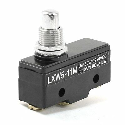 One Piece LXW5-11M 3 Screw Terminals Panel Mount Roller Plunger Limit Switch New