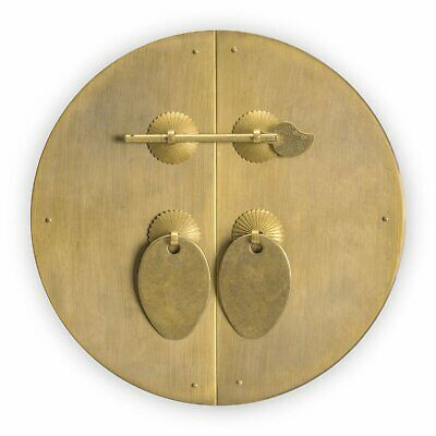 Classic Round Cabinet Face Plate 8-5/8""