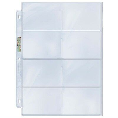 Ultra Pro 8 Pocket Pages (10)