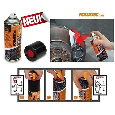 Foliatec Brake caliper varnish 2K Spray paint without Mix red
