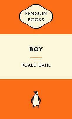Boy: Tales of Childhood by Roald Dahl Paperback Book Free Shipping!