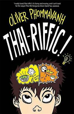 Thai-riffic! by Oliver Phommavanh Paperback Book Free Shipping!