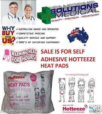 Hotteeze Heat Pads 1 Per Pack Up To 12 Hrs Of Heat Self Adhesive Foot Warmers