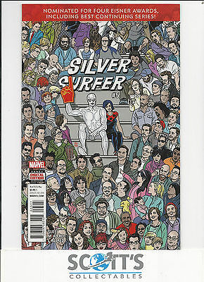 Silver Surfer  #5  Nm  New  (Boarded & Bagged)  Freepost