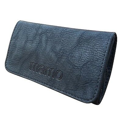 Rolling Tobacco Pouch Wallet Purse Case For Rolling Cigarette Black Color
