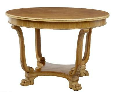20Th Century Later Deco Oak Coffee Occasional Table