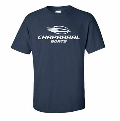 Chaparral Boats Navy Short Sleeve 100% Pre-Shrunk Cotton T-Shirt