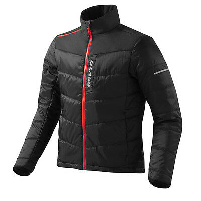 Rev'it! Solar Mid Layer Motorcycle Moto Jacket Black | Rev it Revit | All Sizes