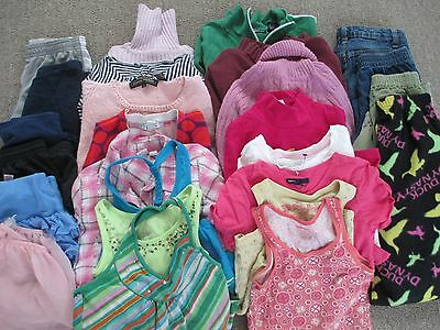 26 piece lot of Girls size 7-8  clothing