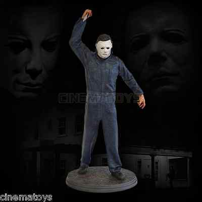 John Carpenter Halloween Michael Myers 1/4 Scale Statue Hollywood Collectibles