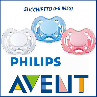 Soother Pacifier 0-6 Months Airflow Philips Avent