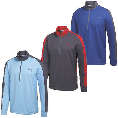 46% OFF RRP Puma Golf Mens PwrWarm 1/4 Zip Popover Sweater 569100 Pullover