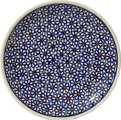 Polish Pottery Plate 6.5 Inch from Zaklady Boleslawiec Polish gu818/120