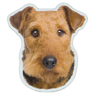 Magnetic Bumper Sticker - Airedale Terrier Dog Breed Magnet - Cars, Trucks, SUVs
