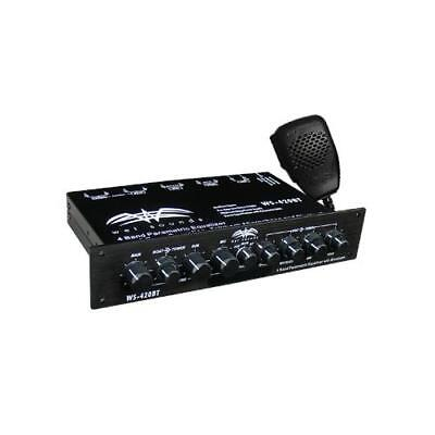 WS-420BT - Wet Sounds Marine Audio Multi Zone Equalizer with Integrated Bluet...