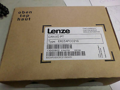 LENZE CANBUS I/O Module E82ZAFCC210 **BRAND NEW** 3 wire canbus w/ 2 x inputs